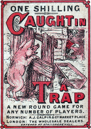 Caught in a Trap, c.1880