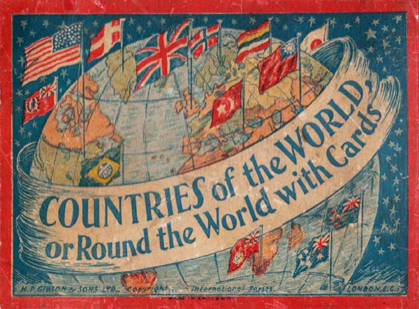 """""""Countries of the World"""" published by H.P. Gibson & Sons, Ltd, c.1939"""