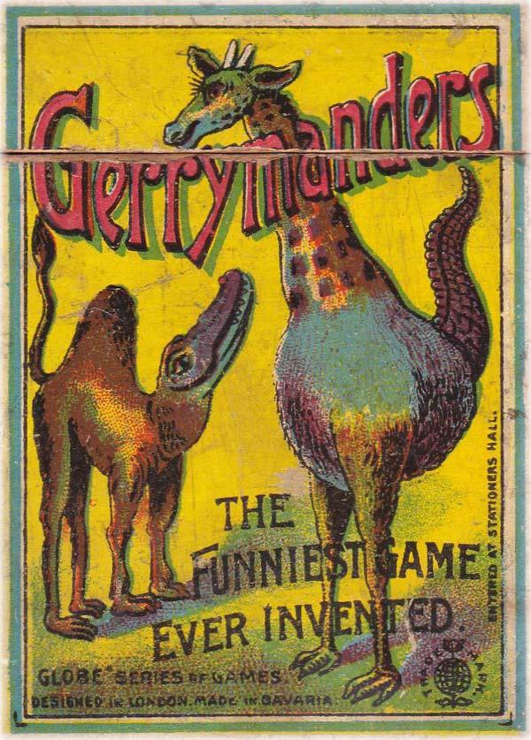 Gerrymanders by Globe Series of Games, c.1900