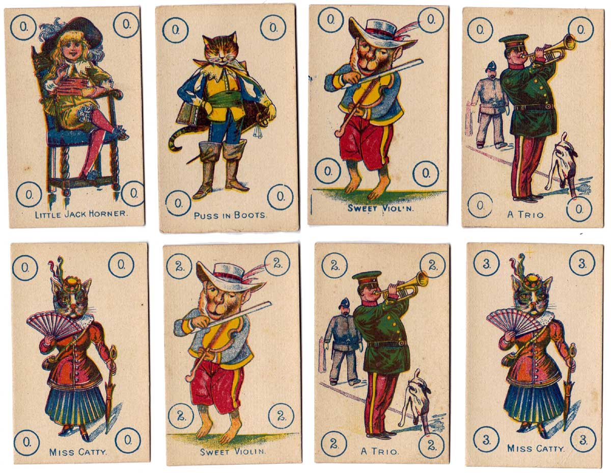 The Game of Numbers published by Globe Series (UK), c.1900
