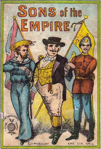 Sons of the Empire by Globe Series, Oppenheimer und Sulzbacher, c.1910