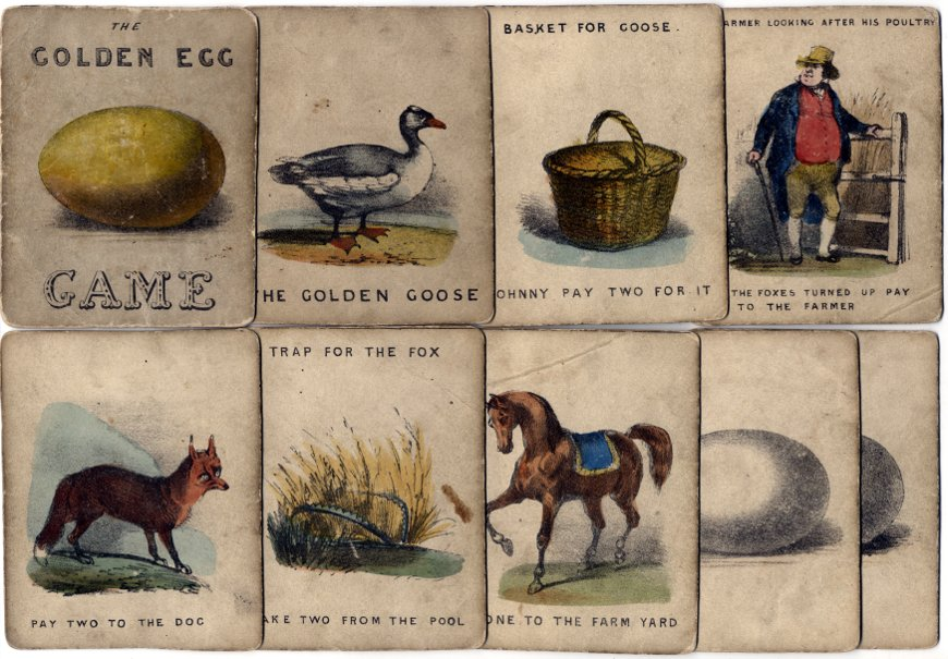 Golden Egg Game, c.1860