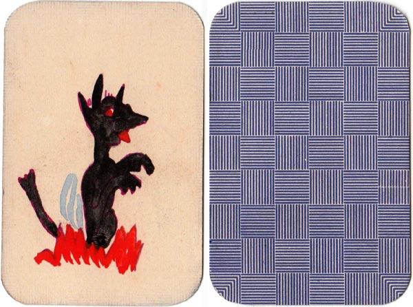 Handmade Black Peter cards