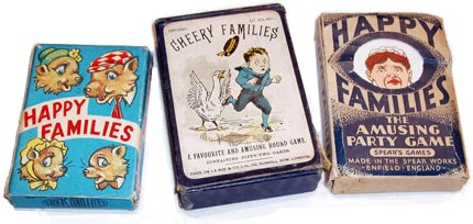 Happy Families card games