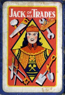 Jack of all Trades card game box