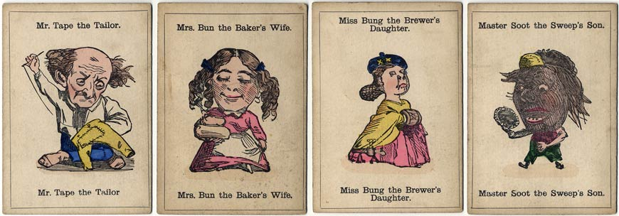 1880s edition of Happy Families published by John Jaques & Son, London