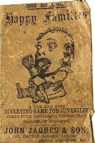 Victorian edition of Happy Families published by John Jaques & Son, London