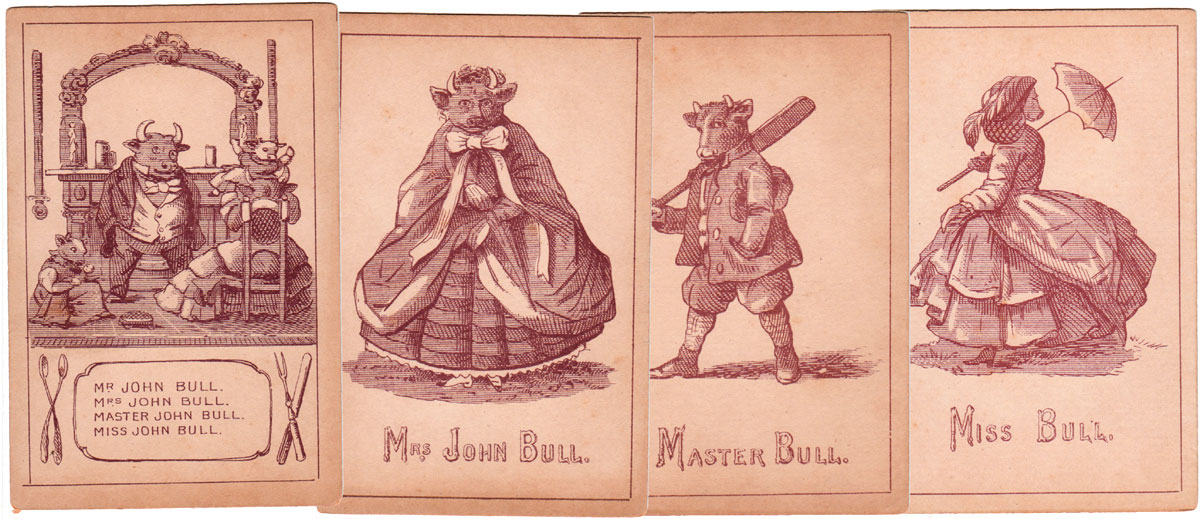 """John Bull"", the Capital English Game published by W. Cremer, c.1865."