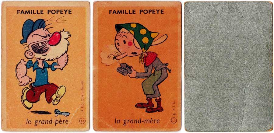Jeu des 7 Familles © K.F.S. Opera Mundi c.1960