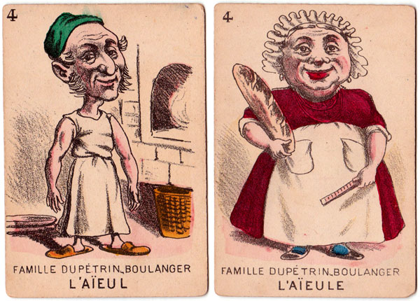 """Jeu de Sept Familles"" produced by Mauclair Dacier in the late 19th century"