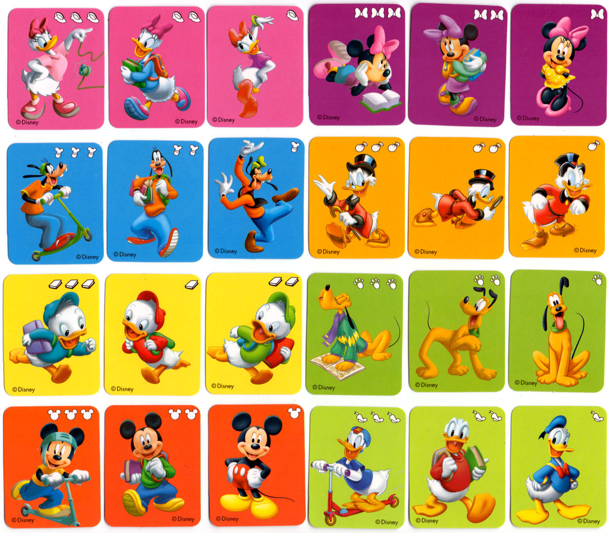 Miniature Disney deck - The World of Playing Cards