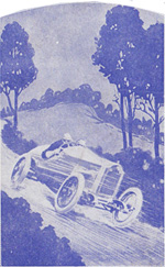'The Motor Handicap' card game published by Philpott & Co.