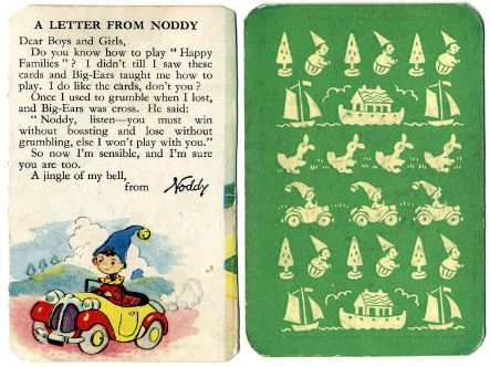 Enid Blyton's Noddy Happy Families, 1955