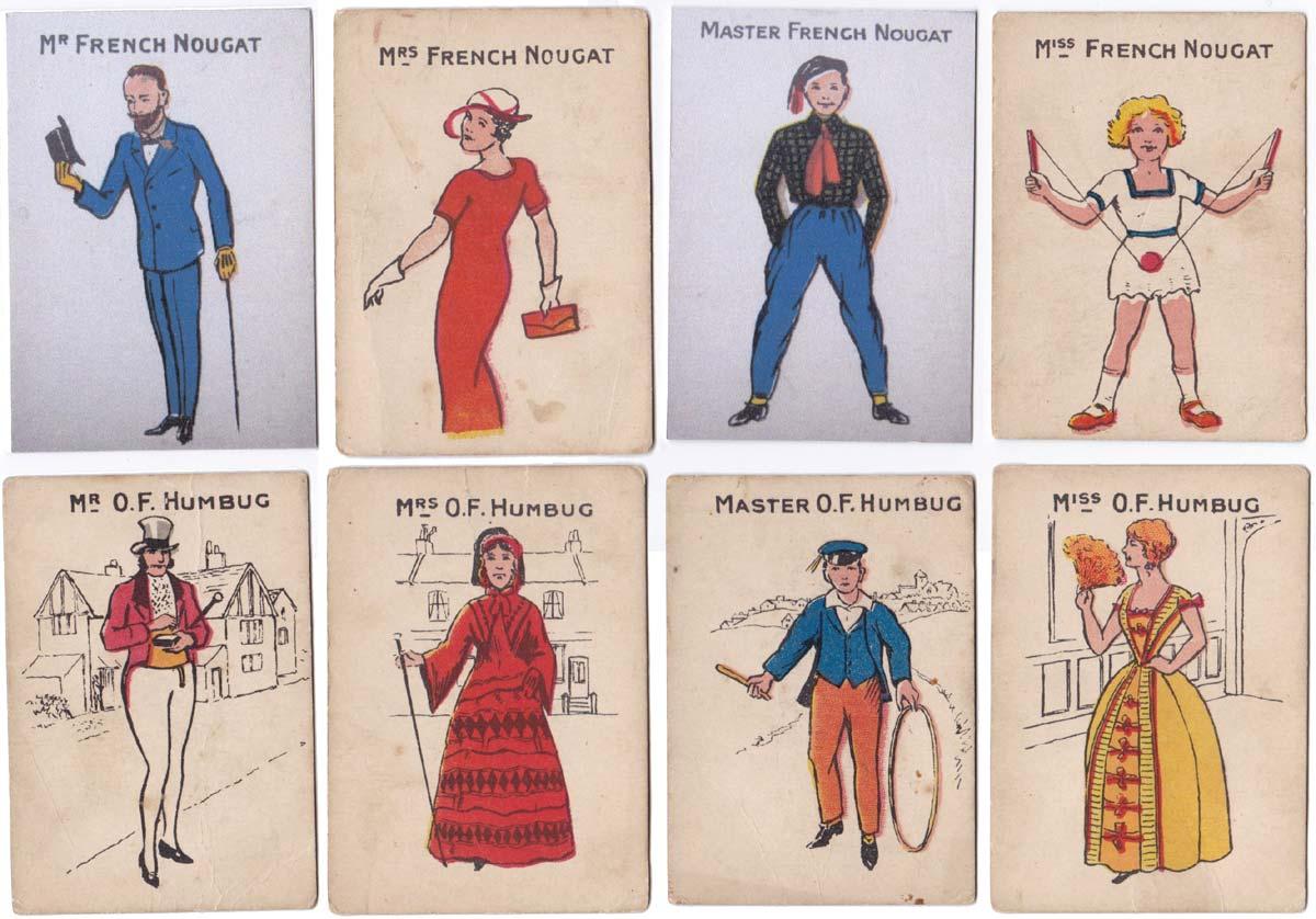 Parkinson's Happy Families, unknown maker, 1920s