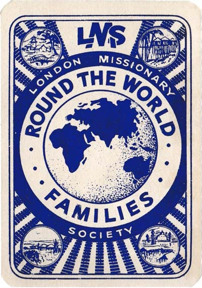 Round the World Families published by the London Missionary Society, c.1945
