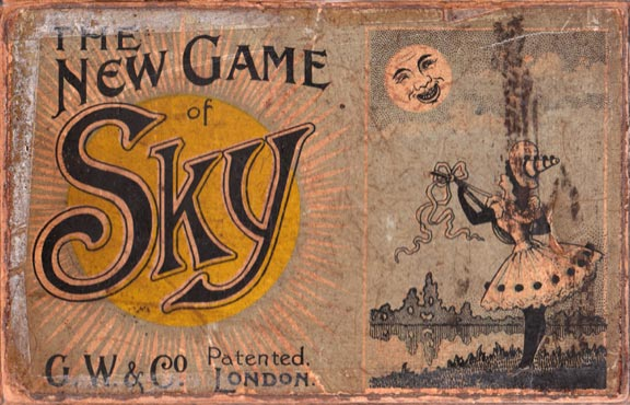 Sky card game published by Geo. Wright & Co, London, c.1905