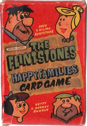 Flintstones Happy Families, c.1960