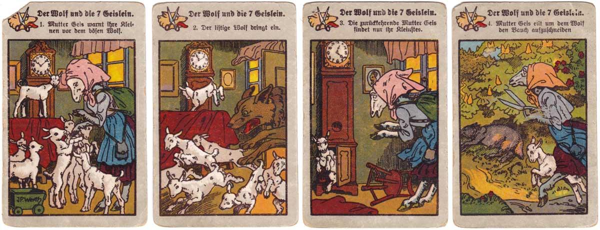 Märchen-Quartett (Fairy Tales) published by J. W. Spear & Söhne, c.1915