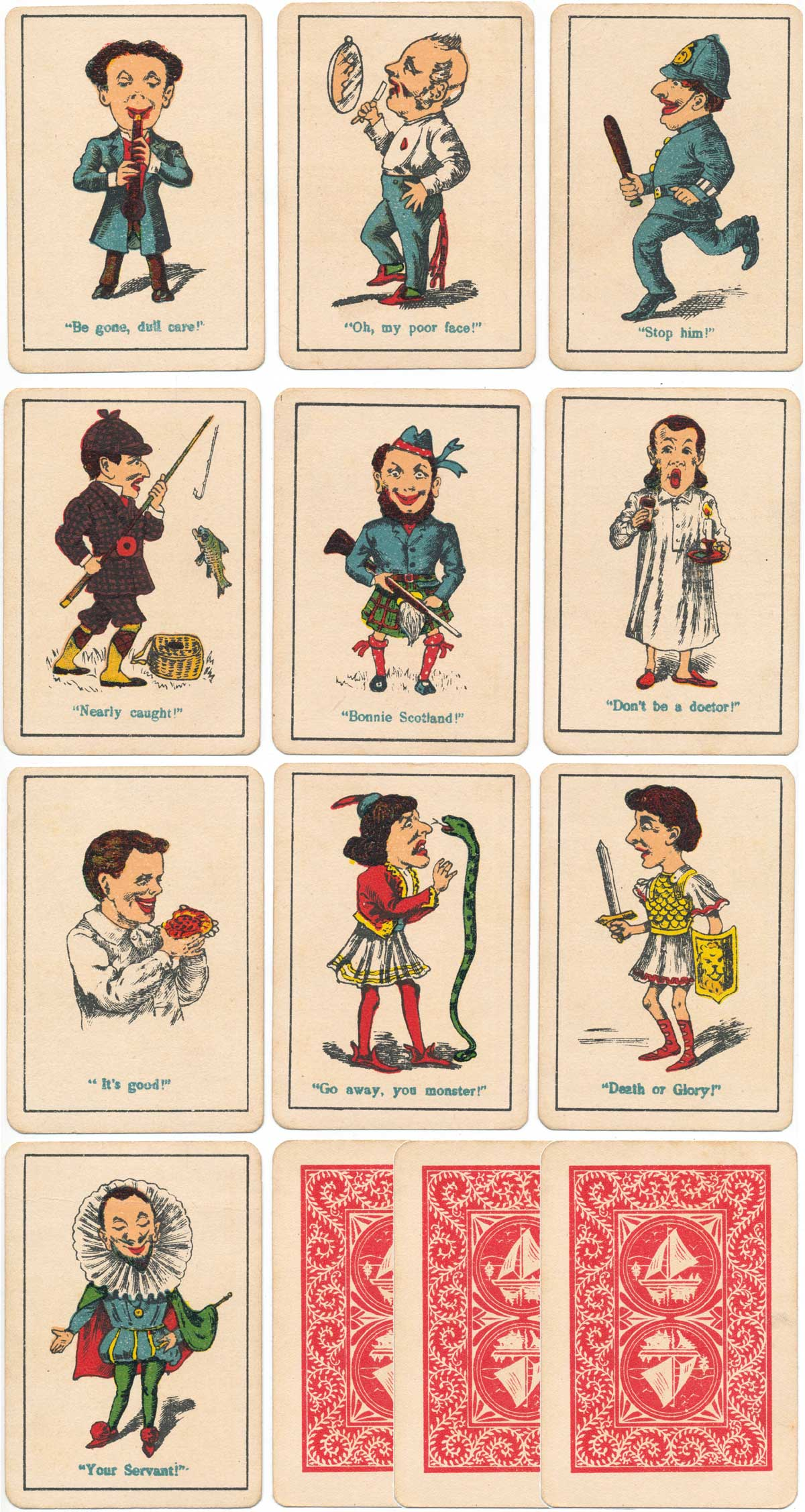 "Spear's ""Snap"" card game from the 1920s"