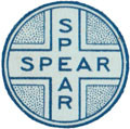 Spear logo from card back