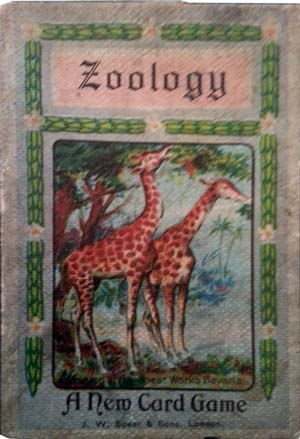 'Zoology' card game published by J. W. Spear and Sons, c.1910