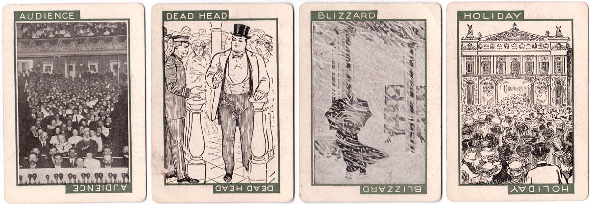 'Stage' card game © 1904 C. M. Clark Publishing Co. Boston, Mass