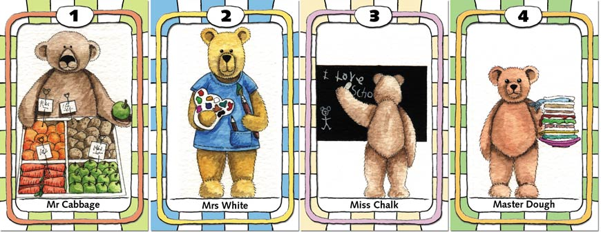 Teddy Bear Happy Families, c.2000