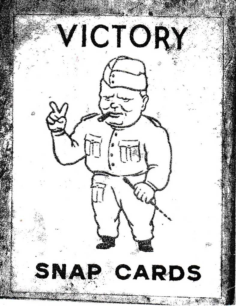 Victory Snap card game, c.1945