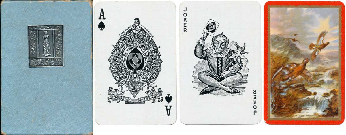 Goodall's Boudoir playing cards, c.1935-39.
