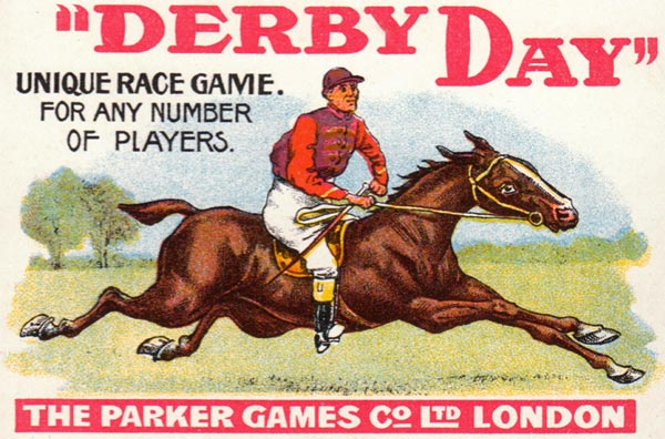 Derby Day published by Parker Games (London) c.1920