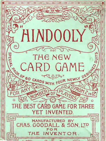 Hindooly published by Chas Goodall & Son Ltd c.1904