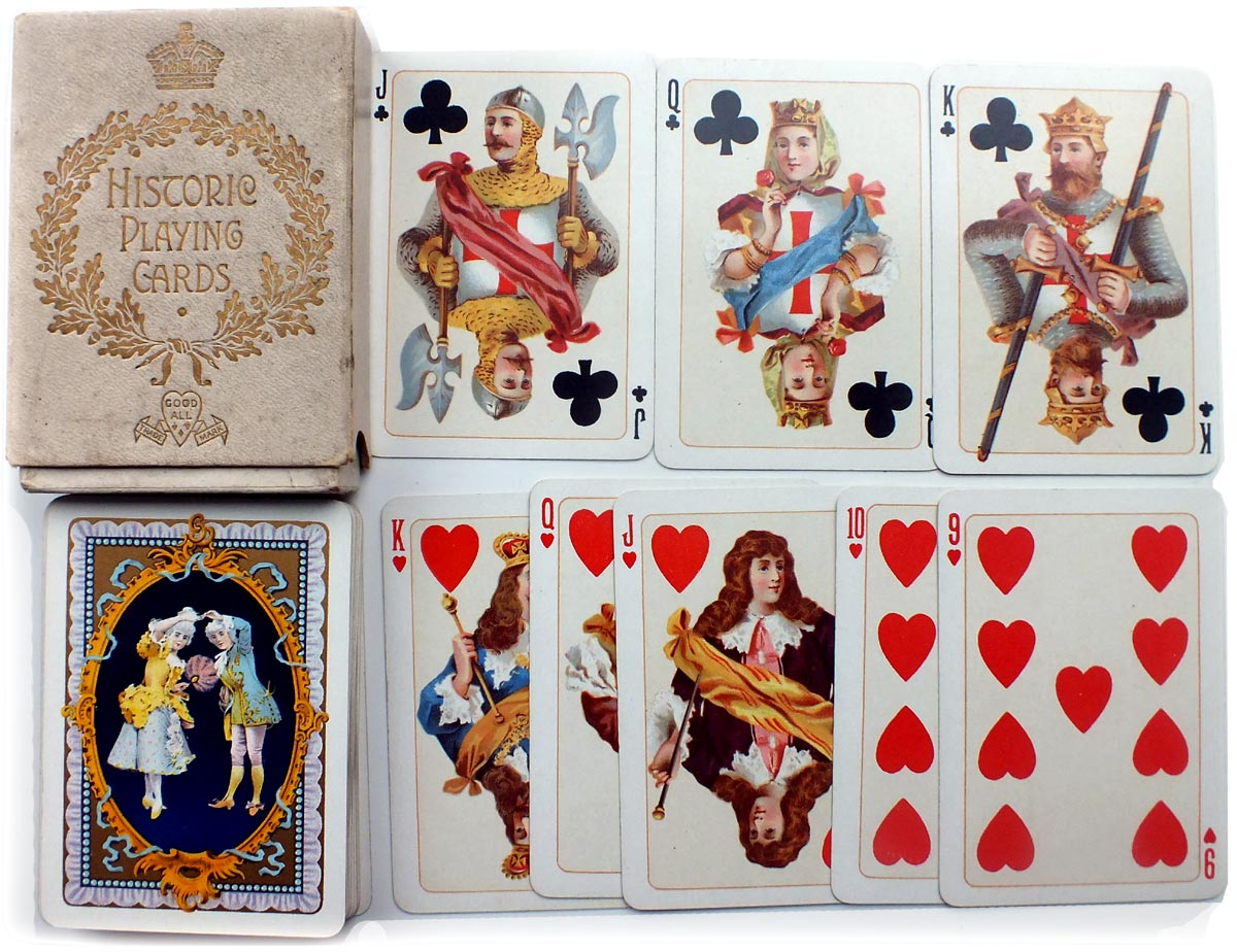 "Goodall's ""Historic"" Playing Cards, 1897"