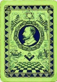 Goodall Royal Masonic playing cards