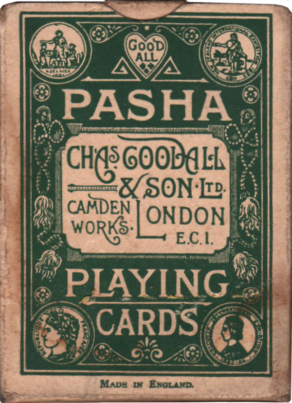 Pasha brand produced by De la Rue, 1920s