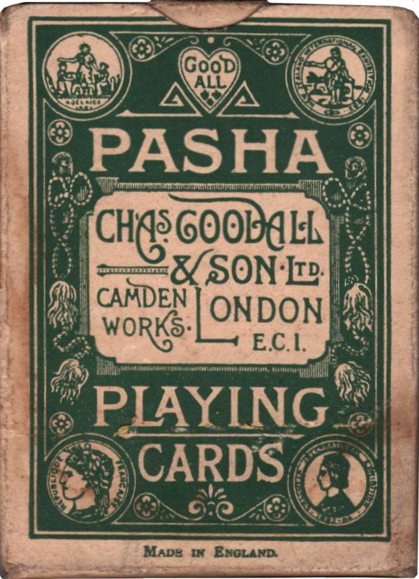 Pasha brand produced by De la Rue, 1920s