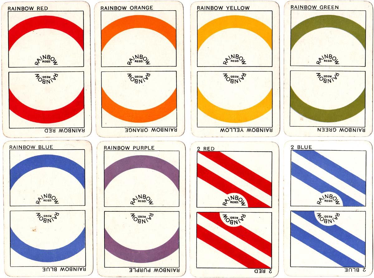 Rainbow printed by Goodall & Sons for Robert Johnson, c.1920