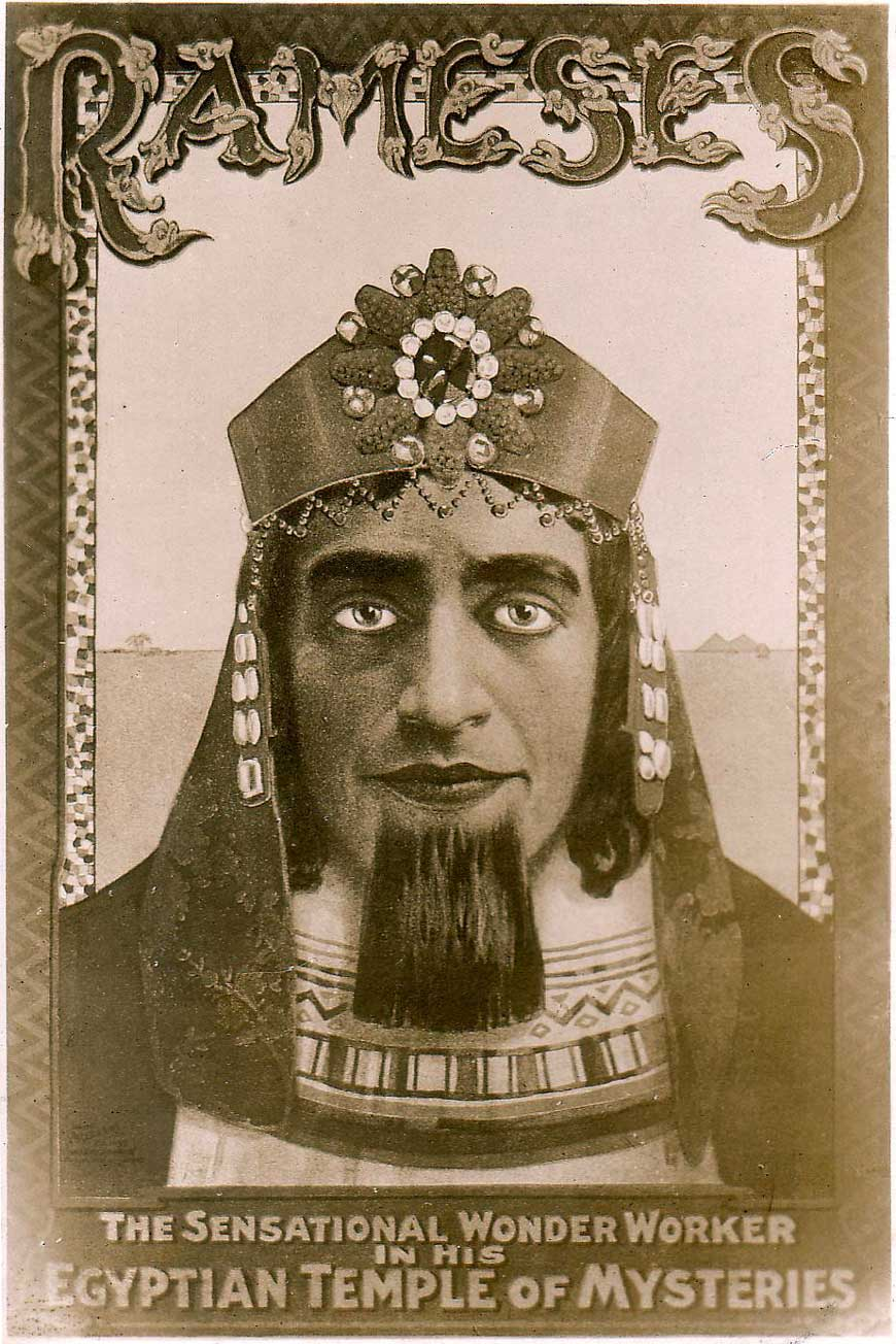 Rameses post-card, c.1910
