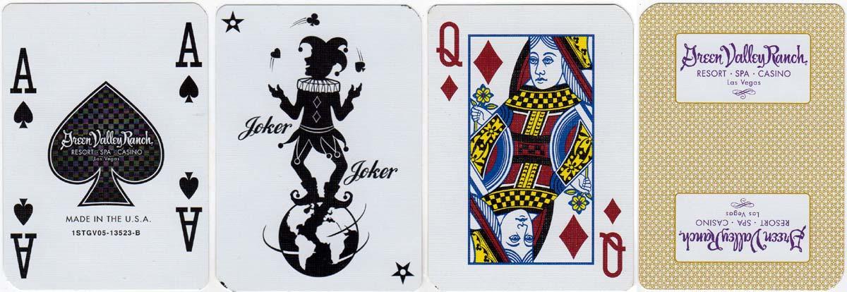 Green Valley Ranch Casino by Carta Mundi c.2005