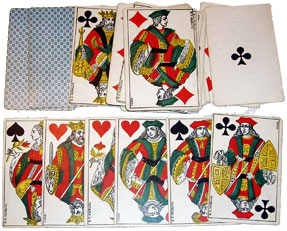 French Piquet cards