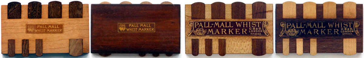 Pall Mall Whist markers by Chas Goodall & Son