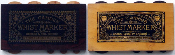Camden Whist markers