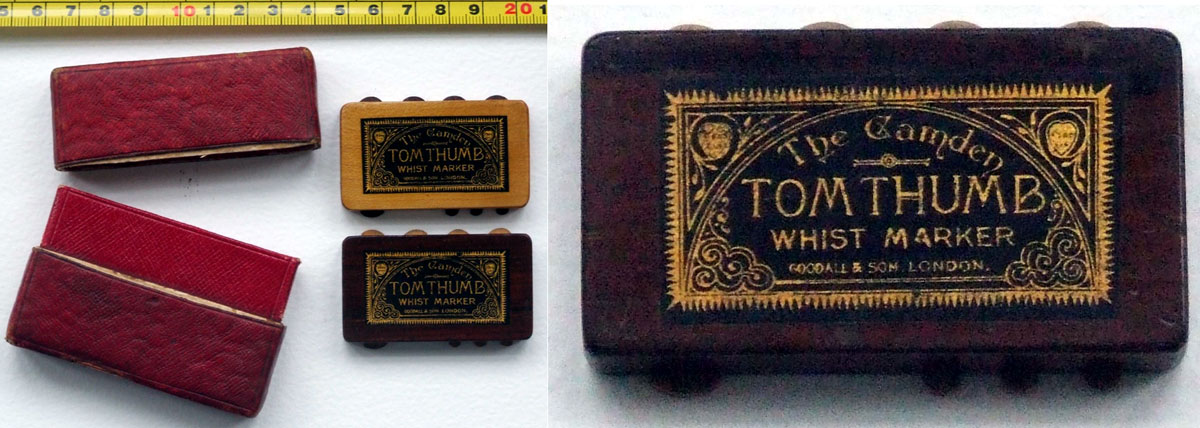 The Camden Tom Thumb Whist markers