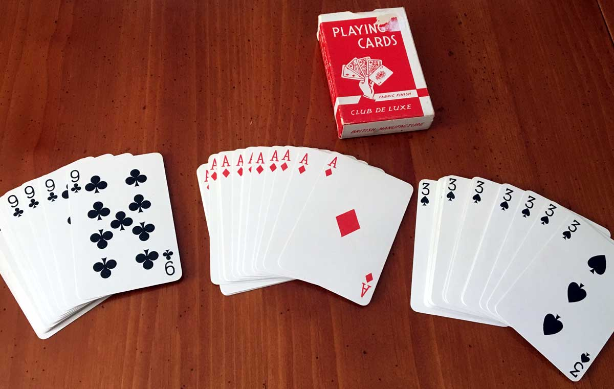 a forcing deck of 'Alf Cooke' playing cards by Universal Playing Card Co Ltd (Alf Cooke), c.1950