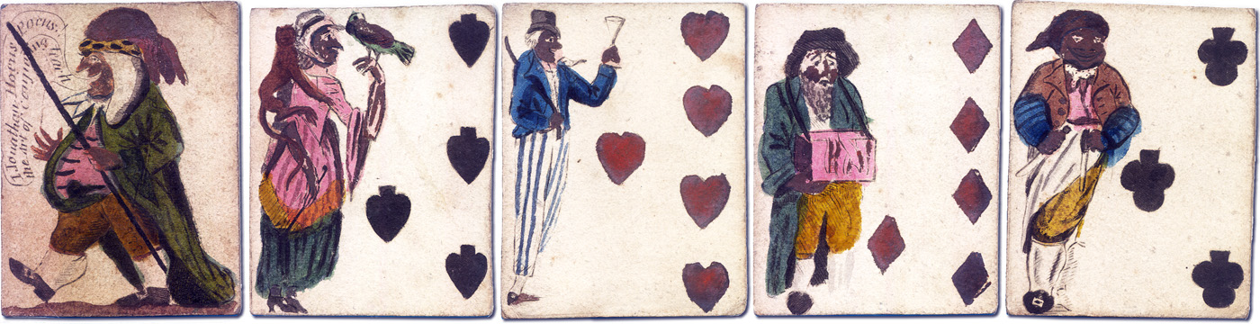 18th century Trick Cards