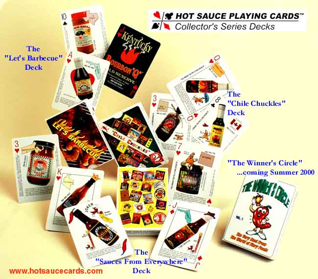 Hot Sauce cards