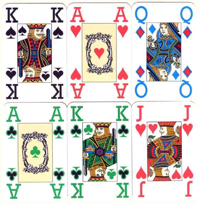 John Newman's Colour Cards
