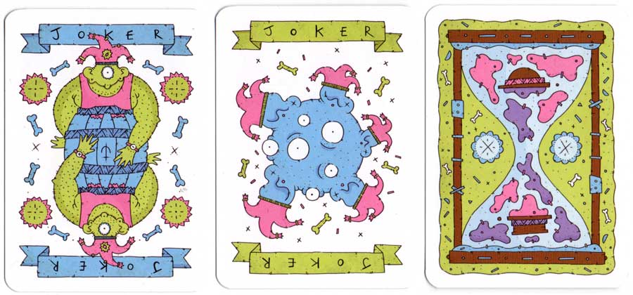 GoFishFriday Playing Cards designed and created by Daniel Campbell, 2015