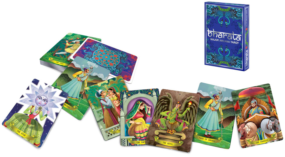 Bharata Major Arcana Tarot by Guru Playing Card Company, 2018