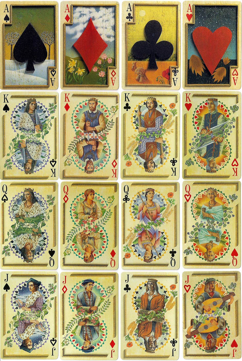Attractive The Fortune Teller's Deck - The World of Playing Cards CU83