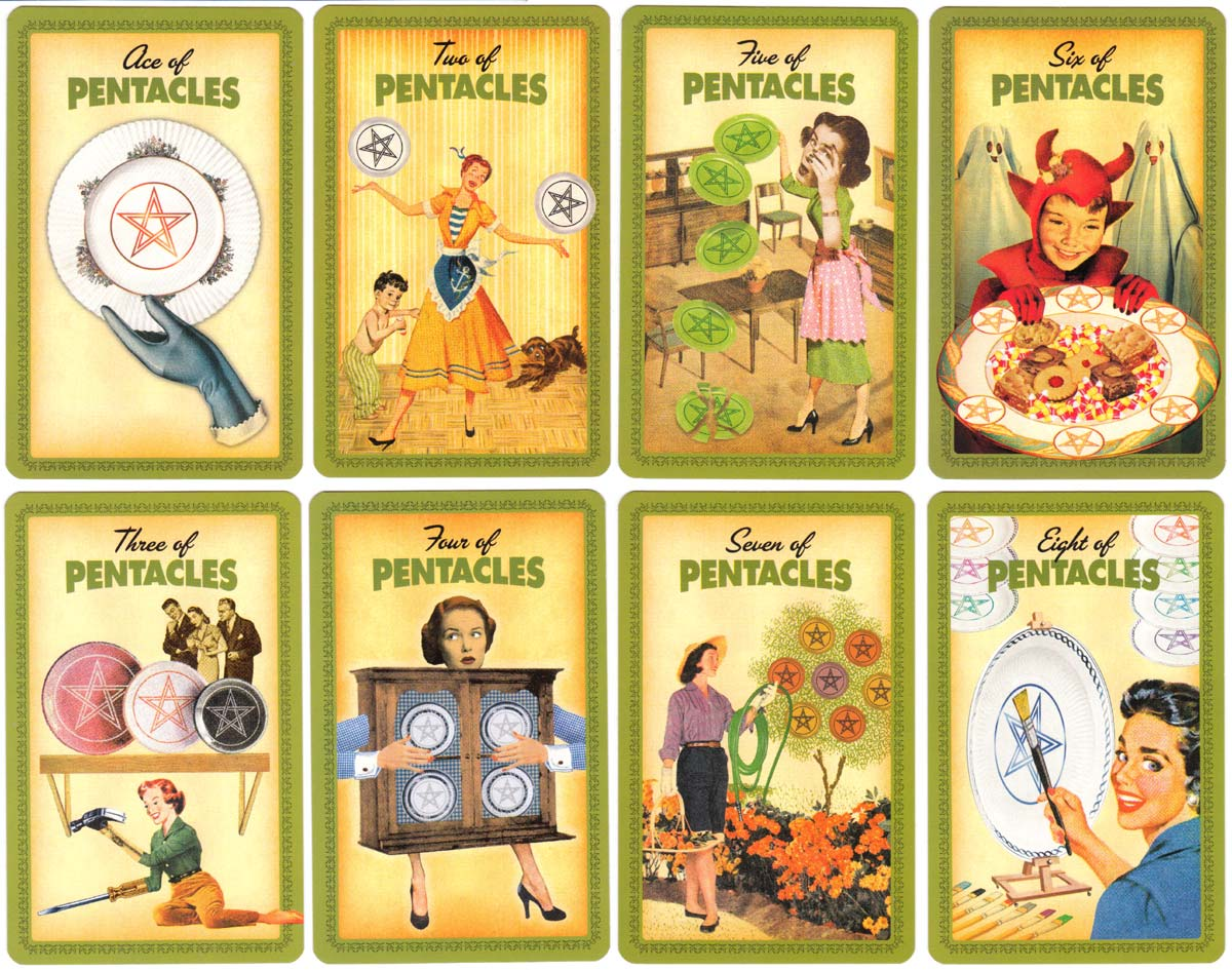 'Housewives Tarot' designed by Paul Kepple & Jude Buffum, published by Quirk Books, 2004